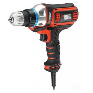 Masina de gaurit/ insurubat BLACK & DECKER MT350K, Fara percutie, 300W, 10mm