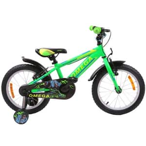 "Bicicleta copii OMEGA Master 2018, 20"", verde"
