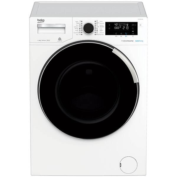 Masina de spalat rufe frontala BEKO WTV8744XDW, AddGarment, 8 kg, 1400rpm, Clasa C, alb