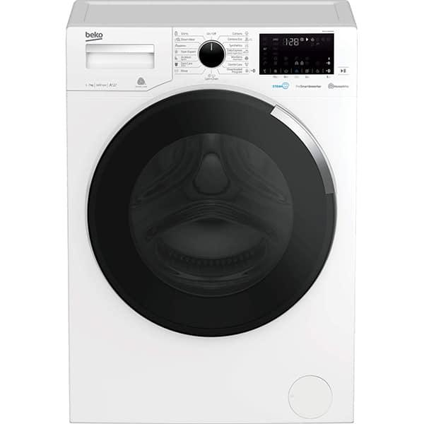 Masina de spalat rufe frontala BEKO WTV7744XW0, HomeWhiz, 7kg, 1400rpm, Clasa A+++, alb