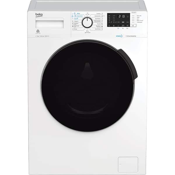 Masina de spalat rufe frontala BEKO WUE7512BXST, SteamCure, 7kg, 1000rpm, Clasa A+++, alb