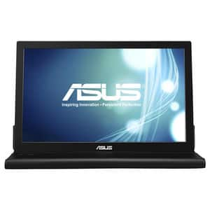 "Monitor portabil LED TN ASUS MB168B, 15.6"", HD, 60Hz, argintiu-negru"