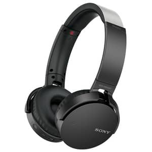 Casti SONY MDR-XB650BTB, Bluetooth, NFC, On-Ear, Microfon, Extra-BASS, negru