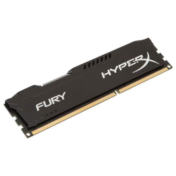 Memorie desktop Kingston HyperX Fury Black HX316C10FB/4, 4GB DDR3, 1600MHz, CL10