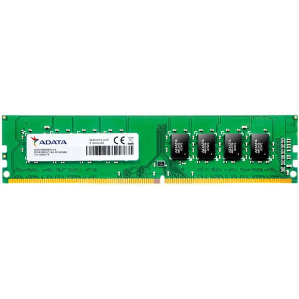Memorie desktop ADATA 4GB DDR4, 2666MHz, CL19, AD4U2666J4G19-S