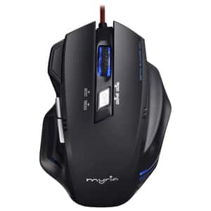 Mouse Gaming MYRIA MG7501, 2400 dpi, negru