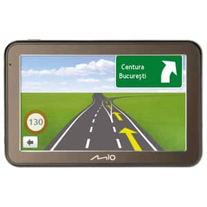 """Sistem de navigatie GPS MIO Spirit 7500BS, 5"""", fara harta, negru"""