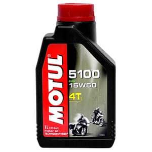 Ulei moto MOTUL 5100 Easter MOT51004T15W501L 4T, 15W50, 1l