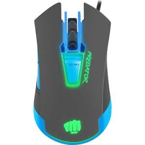Mouse Gaming FURY Predator, 4800 dpi, negru-albastru