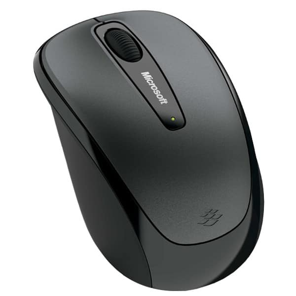 Mouse Wireless MICROSOFT Mobile 3500, 1000 dpi, negru