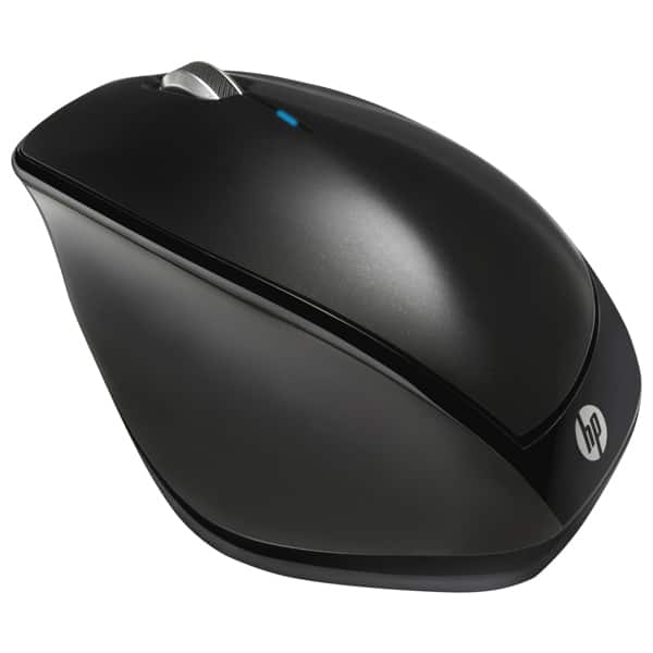 Mouse Wireless HP X4500, 1600 dpi, negru
