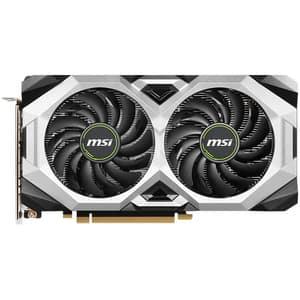 Placa video MSI GeForce RTX 2060 Ventus GP OC, 6GB GDDR6, 192bit