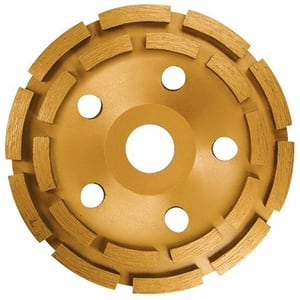 Disc diamantat pentru slefuit MTX 729809, 115 mm, rand dublu