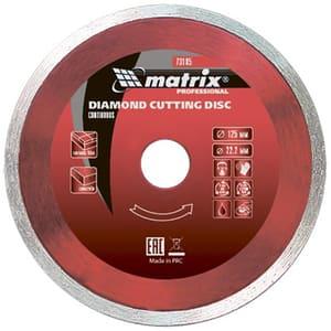 Disc diamantat MTX 731889, debitare continua, 180 x 25.4 mm, taiere umeda