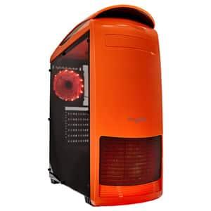 Carcasa MYRIA MY8729, USB 3.0, 400W, portocaliu