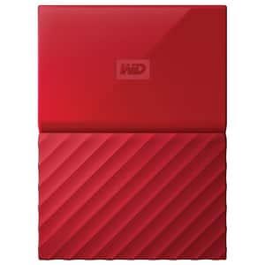 Hard Disk Drive WD My Passport WDBYFT0040BRD, 4TB, USB 3.0, rosu