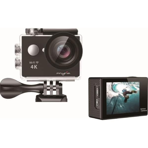 Camera video sport MYRIA MY7001, 4K, Wi-Fi, negru