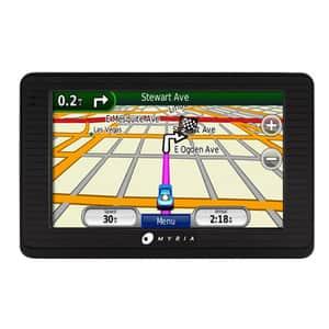 """Sistem de navigatie GPS MYRIA DC-0159, 4.3"""", fara harta, negru"""