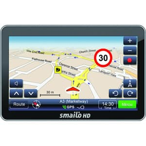 "Sistem de navigatie GPS SMAILO HD50, 5"", fara harta, negru"