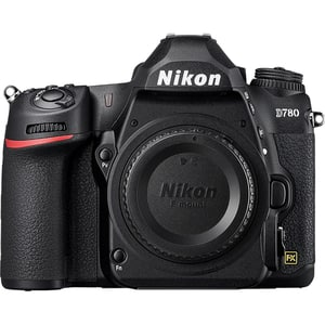 Aparat foto DSLR NIKON D780, 24.5 MP, Wi-Fi, negru, Body