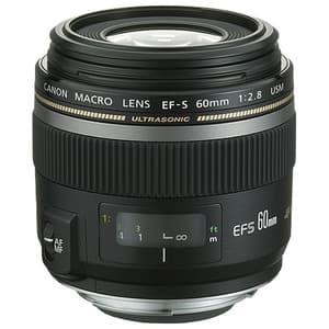 Obiectiv foto CANON EF-S 60mm f/2.8 Macro USM