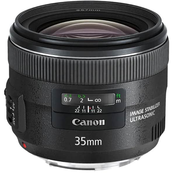 Obiectiv foto CANON EF 35mm f/2 IS USM