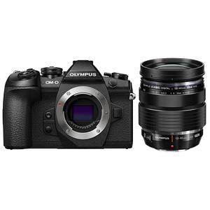 Aparat foto Mirrorless OLYMPUS E-M1 Mark II, 20.4 MP, 4K, Wi-Fi + Obiectiv M.Zuiko ED 12-40mm PRO kit