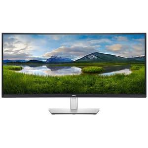Monitor curbat WLED IPS DELL P3421W, 34'', WQHD, 60Hz, gri-negru