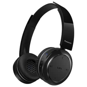Casti PANASONIC RP-BTD5E-K, Bluetooth, NFC, On-Ear, Microfon, negru