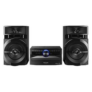 Minisistem audio PANASONIC SC-UX100EK, 300W, Bluetooth, USB, CD, Radio FM, negru