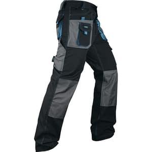 Pantaloni de protectie GROSS, marime M, albastru-negru