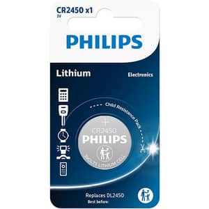 Baterie litiu CR2450/10B PHILIPS, 3V
