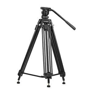 Trepied video PROMATE Pixels-170, 170cm, negru