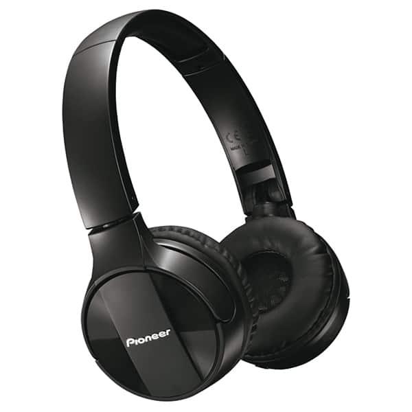 Casti PIONEER SE-MJ553BT-K, Bluetooth, On-Ear, Microfon, negru