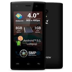 Telefon ALLVIEW A5 Ready, 8GB, 1GB RAM, Dual SIM, Black