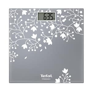 Cantar de persoane TEFAL Classic Blossom PP1140V0, electronic, 160kg, sticla
