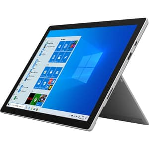 "Laptop 2 in 1 MICROSOFT Surface Pro 7, Intel Core i3-1005G1 pana la 3.4GHz, 12.3"" Touch, 4GB, SSD 128GB, Intel UHD Graphics, Windows 10 Home, Platinum"