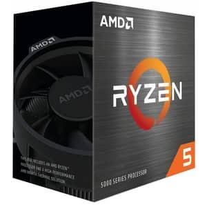 Procesor AMD RYZEN 5 5600X, 3.7GHz/4.6GHz, Socket AM4, 100-100000065BOX