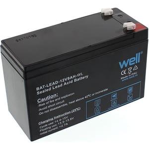 Acumulator plumb acid  WELL BAT-LEAD-12V9AH-WL, 12V, 9 Ah