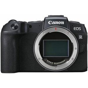 Aparat foto Mirrorless CANON EOS RP, 26.2 MP, Wi-Fi, Body, negru + Adaptor RF-EF