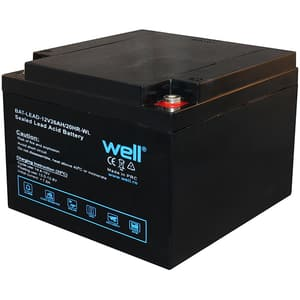 Acumulator plumb acid  WELL BAT-LEAD-12V26AH-WL, 12V, 26 Ah