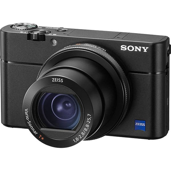 Aparat foto digital SONY Cyber-shot RX100 V, 20.1 MP, 4K, Wi-Fi, negru