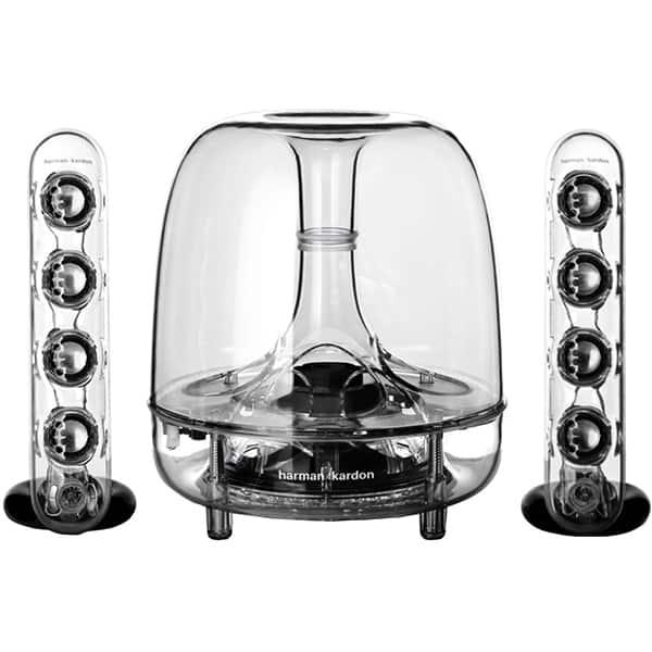 Sistem audio HARMAN KARDON Soundsticks 3, 40W, Bluetooth, negru-transparent
