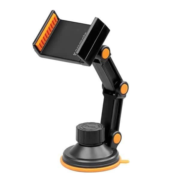 Suport auto universal PROMATE riseMount, parbriz, Orange