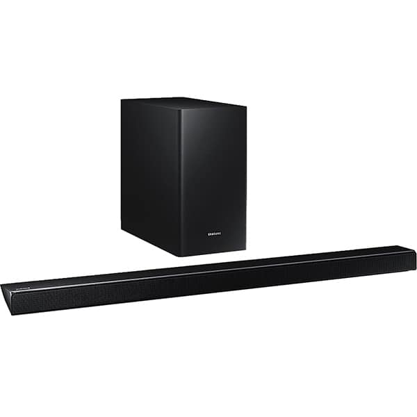 Soundbar Samsung HW-Q60R, 5.1, 360W, Subwoofer Wireless, Dolby, DTS, negru