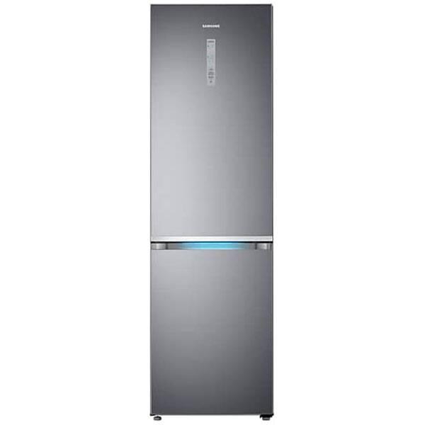Combina frigorifica SAMSUNG RB41R7837S9/EF, No Frost, 406 l, H 201 cm, Clasa E, Twin Cooling Plus, inox