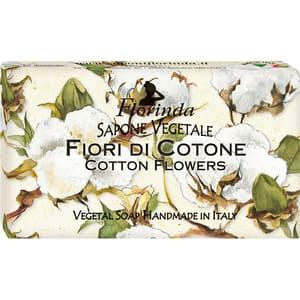 Sapun vegetal LA DISPENSA Florinda, Flori de Bumbac, 100g