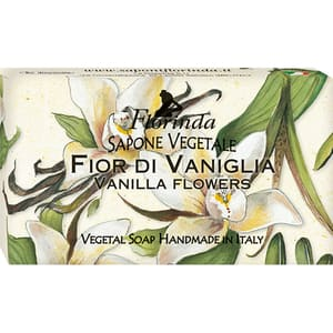 Sapun vegetal LA DISPENSA Florinda, cu flori de Vanilie, 100g