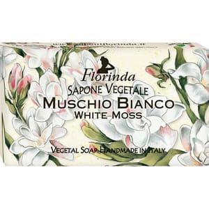 Sapun vegetal LA DISPENSA Florinda, cu Mosc Alb, 100g