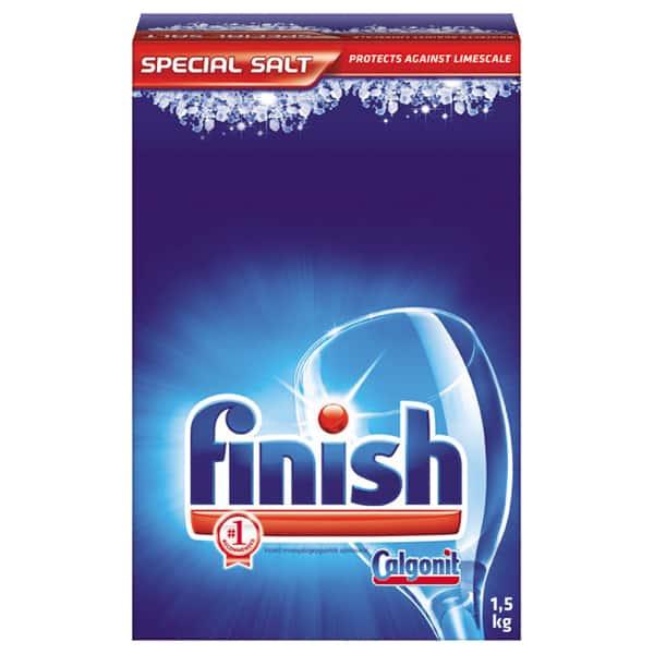 Sare pentru masina de spalat vase FINISH 1,5 kg